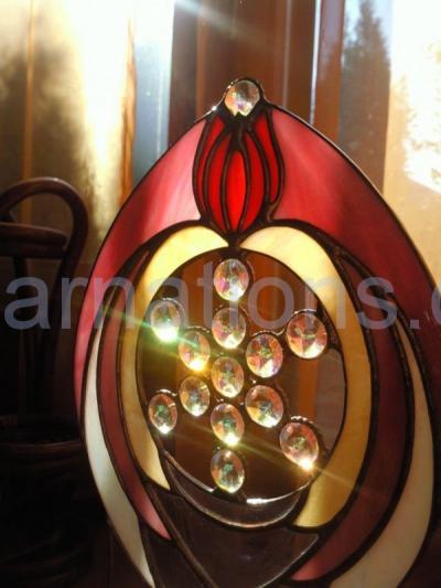 A Lemúriai Fénytest csodája – ablakdísz